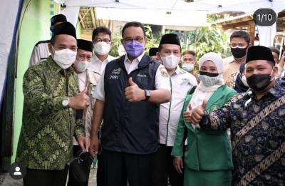 Anies Sebut NU Teladan Dalam Menghadapi Pandemi Covid-19