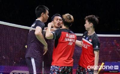Marcus Kevin dan Ahsan Hendra Berpotensi Ciptakan All Indonesian Final di Olimpiade Tokyo 2020