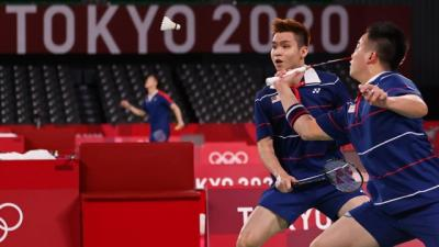Aaron Soh Beberkan Kunci Sukses Tundukkan Marcus Kevin di Olimpiade Tokyo 2020