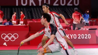 Gagal di Olimpiade Tokyo 2020, Kevin Sanjaya: Sorry Belum Bisa Kasih Hasil yang Terbaik