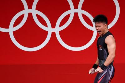 Rebut Medali Perunggu di Olimpiade Tokyo 2020, Presiden Jokowi: Selamat Rahmat Erwin Abdullah!