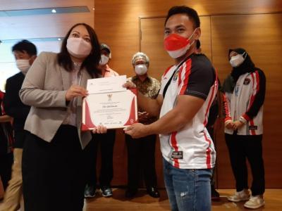 Raih Perak dan Perunggu di Olimpiade Tokyo 2020, Eko Yuli dan Windy Cantika Tiba di Indonesia Nanti Malam