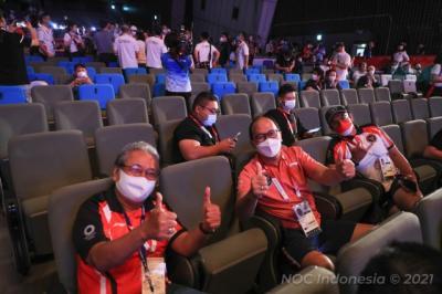 CdM Rosan P Roeslani Kobarkan Semangat Atlet Indonesia di Olimpiade Tokyo 2020