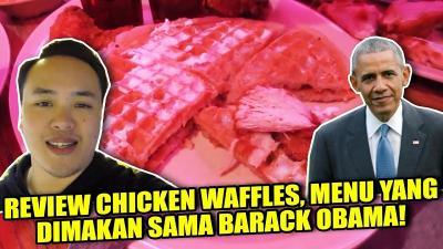 Uniknya Menu Chicken Waffle yang Pernah Disantap Barack Obama