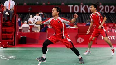 Mohammad Ahsan Hidupkan Sunah Nabi di Lapangan Bulu Tangkis Olimpiade Tokyo 2020