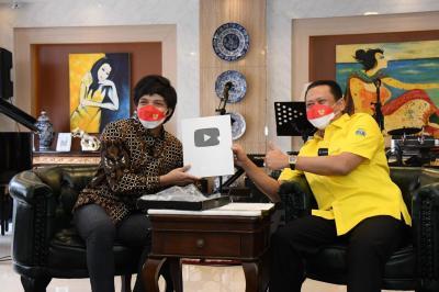 Usai Raih Silver Play Button dari Youtube, Bamsoet Akan Kembangkan Sosialisasikan 4 Pilar MPR RI Melalui TikTok
