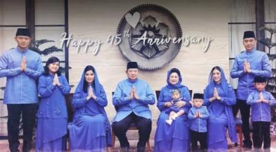 AHY Unggah Video Cerita Cinta SBY-Ani, Peringati 45 Tahun Hari Pernikahan