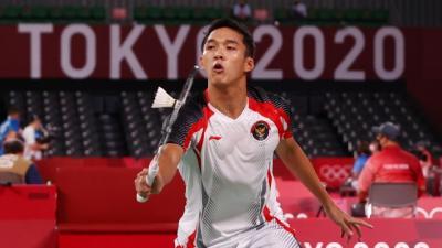 Gagal Raih Medali di Olimpiade Tokyo 2020, Jonatan Christie Mohon Maaf