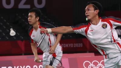 Gagal Melaju ke Final Olimpiade Tokyo 2020, Ahsan Hendra Berhasil Perbaiki Prestasi