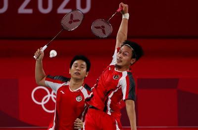 Lupakan Kekalahan di Semifinal, Ahsan Hendra Fokus Incar Medali Perunggu Olimpiade Tokyo 2020
