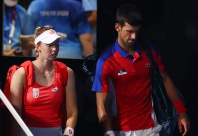 Gagal di Tunggal Putra Olimpiade Tokyo 2020, Novak Djokovic Takluk pada Nomor Ganda Campuran