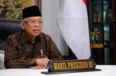 Wapres Ma'ruf Amin Dorong Bali Capai Herd Immunity agar Pariwisata Bangkit