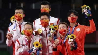 Klasemen Sementara Perolehan Medali Olimpiade Tokyo 2020, Jumat 30 Juli 2021 Puku 17.00 WIB: China Makin Kukuh di Puncak