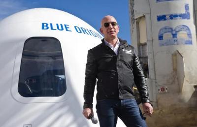 Terungkap, Mimpi Jeff Bezos Pergi ke Luar Angkasa Pernah Ditertawakan