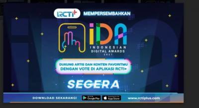 Dukung Artis dan Konten Favorit di Indonesian Digital Awards 2021 dengan Vote Di Aplikasi RCTI+