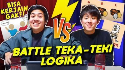 Intip Keseruan Battle Soal Logika Mahasiswa Jepang Jerome VS Tomo