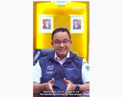 Anies Sampaikan Kabar Baik: Kasus Aktif Covid-19 di Jakarta Turun Drastis!