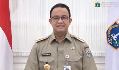 Anies Sampaikan Sederet Statistik Indikator Kasus Covid-19 di Jakarta Menurun