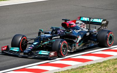 Hasil FP3 F1 GP Hungaria 2021: Hamilton Tercepat, Verstappen Kedua