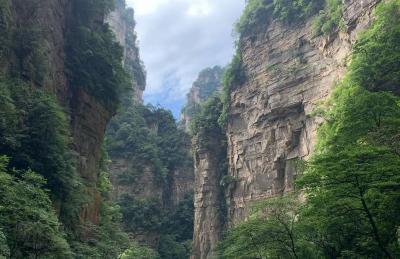 Corona Menggila, Gunung Avatar di China Kena Lockdown