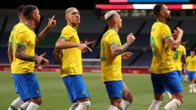 Menang Tipis, Brasil Jinakkan Mesir di Perempatfinal Olimpiade Tokyo 2020
