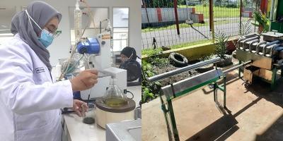 3 Mahasiswa UB Olah Limbah Plastik Jadi Bahan Bakar Ramah Lingkungan