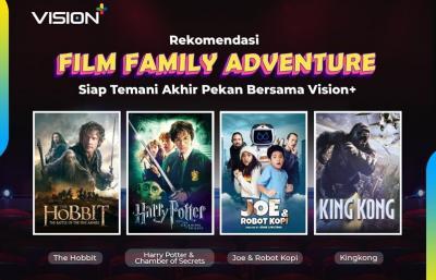 Dari Harry Potter hingga Joe & Robot Kopi, Deretan Film Family Adventure di Vision+