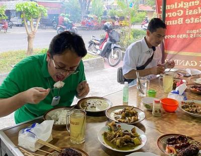 Cerita Wamendag Makan di Warung 7 Menit 38 Detik