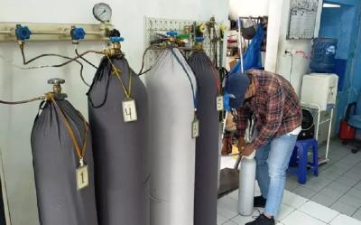 Kebutuhan Oksigen Tinggi, RI Awasi Pengoperasian ISO Tank