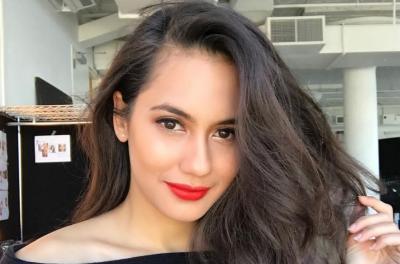 Strong! Pevita Pearce Angkat Besi, Jagoan Netizen se-Indonesia Raya