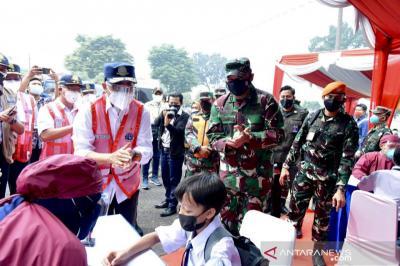 TNI AU Siap Berkolaborasi dengan Pemerintah Daerah Penuhi Target Vaksinasi Covid-19