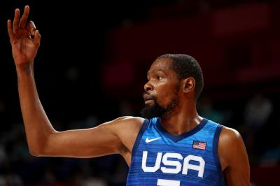 Bantu Timnas Amerika Serikat Tekuk Republik Ceko di Olimpiade Tokyo 2020, Kevin Durant Ukir Rekor
