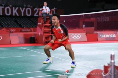 Punya Kemiripan dengan Taufik Hidayat, Anthony Ginting Sumbang Emas bagi Indonesia di Olimpiade Tokyo 2020?