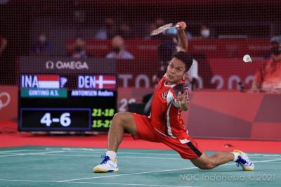 Anthony Ginting vs Chen Long di Semifinal Bulu Tangkis Olimpiade Tokyo 2020, Lanjutkan Dominasi?
