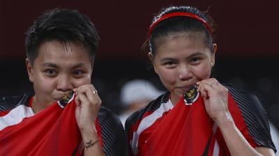 Anthony Sinisuka Ginting Kalah, Indonesia Bertumpu kepada Greysia Polii Apriyani Rahayu untuk Medali Emas Olimpiade Tokyo 2020