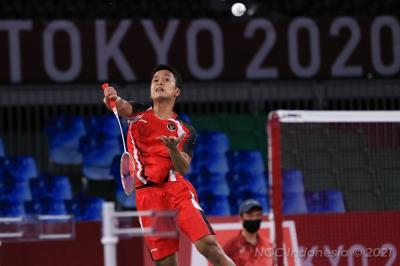 Lawan Kevin Cordon di Olimpiade Tokyo 2020, Anthony Sinisuka Ginting Waspada