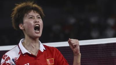 Bungkam Tai Tzu Ying di Final, Chen Yufei Raih Medali Emas Olimpiade Tokyo 2020