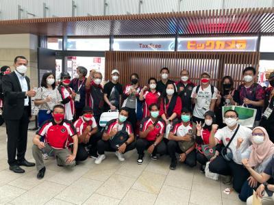Kawal Kepulangan Kontingen Indonesia Kloter Kedua, Dubes Heri Beri Motivasi kepada Para Atlet