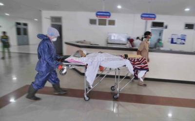 Jumlah Pasien Covid-19 yang Dirawat di Rumah Sakit Mengalami Penurunan