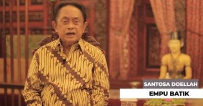 Pendiri Batik Danar Hadi Solo Santosa Doellah Meninggal Dunia