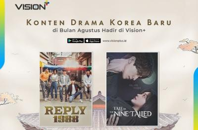 Annyeong-Haseyo! Vision+ Hadirkan Drama Korea Terbaru, Ada Reply 1988 & Tale of The Nine Tailed
