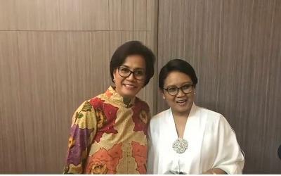 Cerita Sri Mulyani dan Retno Marsudi, Sahabatan hingga Jadi Menteri