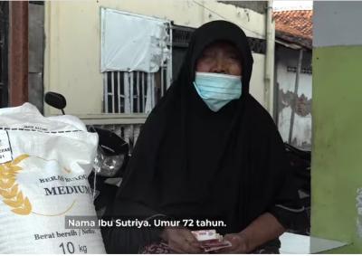 Cerita Sutriya, Ibu 72 Tahun Dapat Bansos Tunai Rp600.000 untuk Makan
