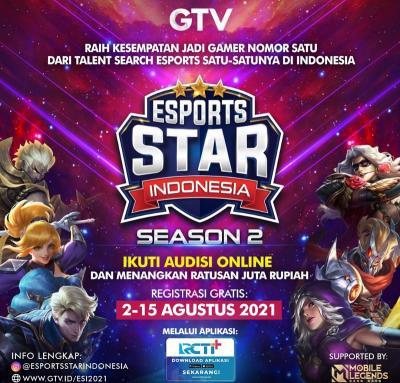 Siap Mengulang Sukses, Esports Star Indonesia Buka Audisi Online Hari Ini