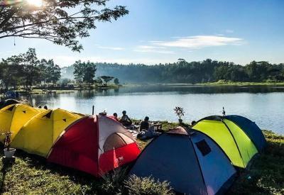 Pesona Alam Gunung Jae Lombok, Dulunya Bekas Tambang Kini Jadi Wisata Eksotis
