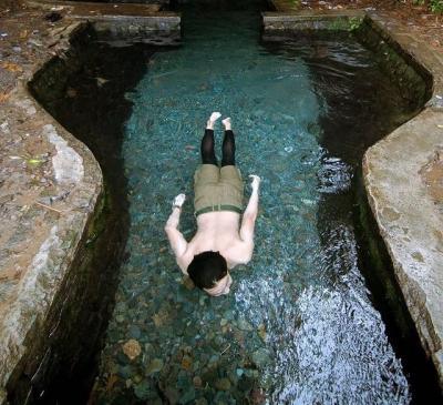 Wisata Situ Batu Karut Sukabumi, Selokan Alami Berair Jernih