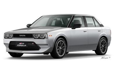 Toyota Hadirkan Kembali Corolla DX  Kotak dengan Tampang Modern