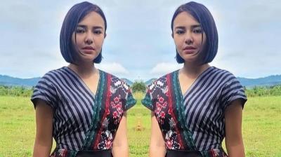 3 Dress Batik Modern Amanda Manopo dengan 'Harga Merakyat' Tak Sampai Rp200 Ribu!