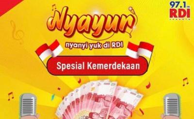 RDI Bikin Karaokean NYAYUR Berhadiah Jutaan Rupiah, Daftar Segera di Sini!
