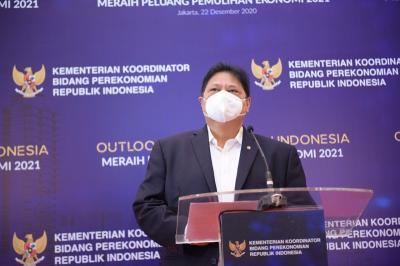 Menko Airlangga Ungkap 21 Provinsi di Luar Jawa-Bali Lanjutkan PPKM Level 4